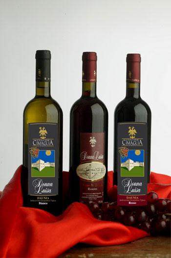 Vini Donna Luisa Bianco Rosato Rosso